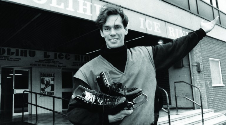 John Curry, the former European figure skating champion, arrives at Solihull Ice Rink, where he hopes to pass on a few tips to promising youngsters. 10th June 1988.